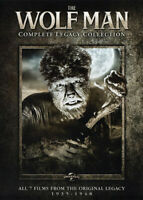 The Wolf Man (1941): Complete Legacy Collection (4 Disc) DVD NEW