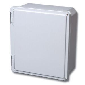 Stahlin Electrical Fiberglass EnclosureBox DiamondShield DS141206HW 14x12x6