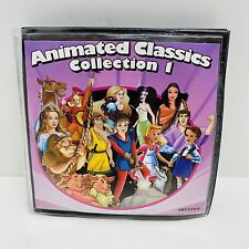 ANIMATED CLASSICS COLLECTION 1 and 2- 10 DVDs/20 Movies-English and Spanish