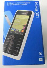 Nokia 301 Black 3.2MP 2.4in. Bluetooth Cell Phone (T-Mobile) Mobile Phone