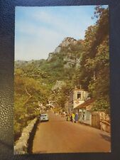 Postcard 1968.Entrance to the Gorge, Cheddar