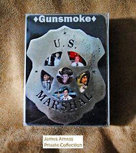 James Arness Marshal Dillon 2021  Gunsmoke Collector's Playing Cards Deck