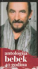 Zeljko Bebek 4 CD + Knjiga Box Antologija 40 godina Bijelo Dugme Goran Bregovic