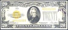 1928 $20 pure Gold Certificate-You Must L@K