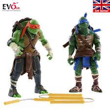 2016 NEW Teenage Mutant Ninja Turtles Movie TMNT Set of 4 Action Figures Toys UK
