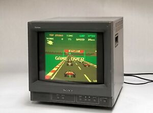 "Sony Trinitron PVM-14N1U 14"" Retro Gaming Color Video CRT Monitor BNC Y/C 500TVL"