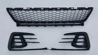 VW GOLF 7.5 GTD GTI 2017 2018 2019 GENUINE FRONT BUMPER CENTRE GRILL TRIM SET .