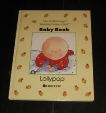 never used Baby Book LOLLYPOP records memories moments CAILLOU Chouette SEARS