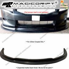For 08 09 10 Honda Accord 2 Door Coupes Mda Style Front Bumper Splitter Lip Jdm Fits 2008 Honda Accord