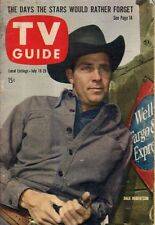 1958 TV Guide July 19 - Dale Robertson-Wells Fargo; Name that Tune; Doris Day