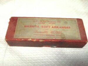 Washita Soft Arkansas  By Russells Arkansas Oilstones