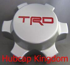 NEW Toyota 01-13 TACOMA 07-13 FJ Cruiser TRD SILVER Center Cap PT904-35070-CC