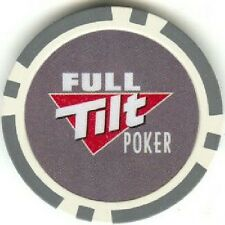 3 pc 3 colors FULL TILT poker chips samples set #129B