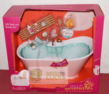 """Battat Our Generation Bath and Bubbles Set for 18"""" Dolls (Damage Packaging)"""
