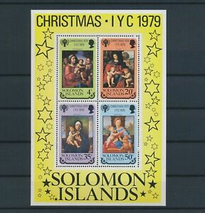 LN23329 Solomon Islands 1979 christmas year of the child sheet MNH