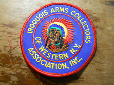 Arms Collectors Patch with Indian Chief design