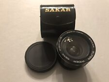 Sakar Super Wider Semi Fish-Eye Auxillary Lens With Caps And Case EXCELLENT