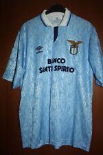 Maglia Shirt Maillot Trikot Camiseta SS Lazio Umbro Banco Santo Spirito 91 92