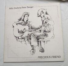 2-LP, ARLO GUTHRIE & PETE SEEGER Precious Friend Warner Brothers 2BSK 3644, NM