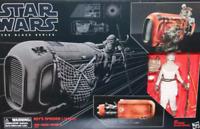 "Star Wars Black Series 6"" Rey Speeder Bike Vehicle  Last Jedi Force Awakens MIB"