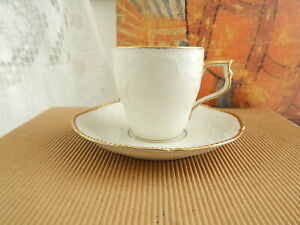 PREZIOSO SET CAFFÈ TAZZINA PIATTINO SANS SOUCI PORCELLANA ROSENTHAL SELB ANNI 40