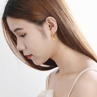 Damen Creolen mit Anhängern Plättchen echt Silber 925 Ohrhänger Ohrringe