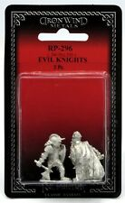 Ral Partha RP-296 Evil Knights (Set of 2) Chaos Warriors Chaotic Band Fighters
