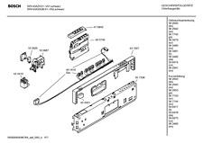 Bosch Neff Siemens DISHWASHER Control Module PCB 00495746