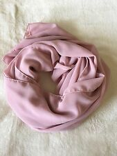 Chiffon Shawl Crepe pink Hijab  Scarf Head Cover Islamic fashion wrap