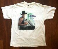 Kenny Chesney Vintage Margaritas & Senoritas Tour 2003 T-Shirt Adult XL Concert