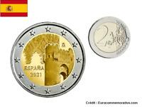 Prévente 2 Euros Commémorative Espagne 2021 Tolède UNC