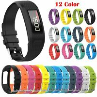 Replacement Silicone Wristband Watch Strap Bracelet Band for Garmin Vivofit 2 1