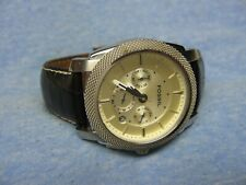 Men's FOSSIL Water Resistant Chronograph Watch FS4437 w/ New Battery