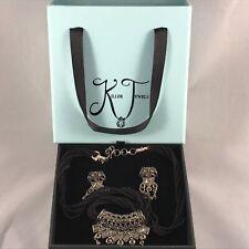 Killer Jewels - Australian Handmade Silver & Zircon Diamond Necklace Earring Set