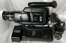 SONY HandyCam Video 8 Cam Camera Recorder Accessories CCD-F33 BROKEN FOR PARTS