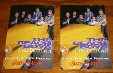 2 promotional cards 1996 The Beach Boys Stars and Stripes Volume 1