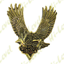 HI EBENE GOLD ADLER EMBLEM YAMAHA XV535 SELBSTKLEBEND 58MM W X 64MM H BC38072 T