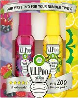 Air Wick ViPoo Pre-Poo Toilet Spray Air Freshener Gift Pack Lemon/Fruit pin up