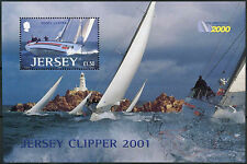 Jersey 2001 SG #MS 1006 Round the World Yacht Course neuf sans charnière m / s #D 8068