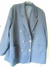 Unbranded Hip Length Wool Blazer Coats & Jackets for Women
