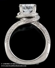 A.JAFFE .50CT TW VS1 F, Semi-mount Engagement Ring (Item 7852)