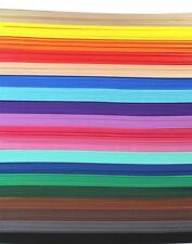 2 Sheets Rubber Foam / E.V.A. A4 300 x 200 x 2 mm - 20 Colours