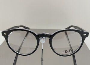 RAY BAN RB5376 SPECTACLE FRAMES COLOUR 2034 BLACK AND CRYSTAL SIZE 47MM-21MM