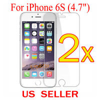"""2x Clear LCD Screen Protector Guard Cover Shield Film For Apple iPhone 6S (4.7"""")"""