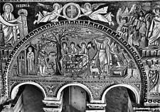 Italy Ravenna Tempio di S. Vitale Abramo che ospita i tre Angeli e Il Sacrificio