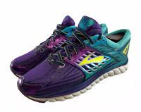 Brooks Womens Glycerin 14 1202171B540 Purple Teal Blue Running Shoes Size 8.5 B