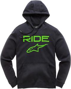 Alpinestars Ride 2.0 Fleece XL Black Fluorescent Green Green 1119510001060XL
