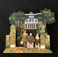 Butlers'S Atlanta. Mansion Gww09Ap Signed In Gold Shelia'S Gone With The Wind