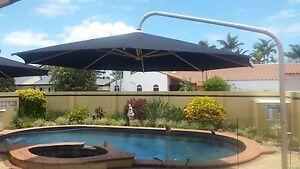 Umbrella 5 metre  Large Outdoor Cantilever black