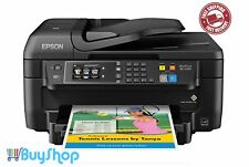 4-in-1 Wireless Color Printer Laser-Quality with Scanner Copier Fax Ethernet NFC
